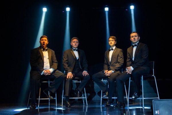 Extravaganza - 4 men sing
